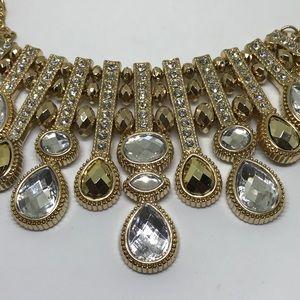 INC International Concepts Jewelry - INC Crystal Statement Necklace [JW-51]